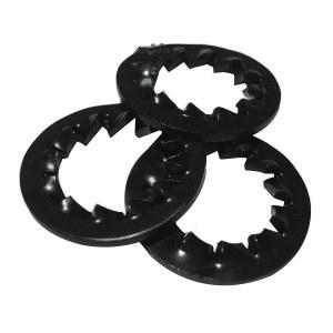 ZKH/震坤行 DIN6798 内锯齿锁紧垫圈-J型 碳钢65Mn 350-430HV 发黑 37A440008000000100 φ8 200个 1包