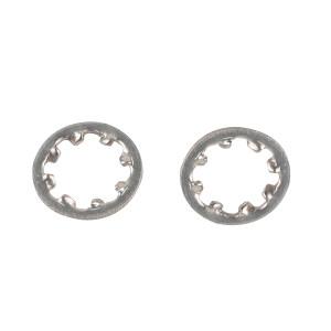 ZKH/震坤行 DIN6797 内齿锁紧垫圈-J型 不锈钢304 A2-100 本色 210437003000000000 φ3 200个 1包