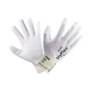 ANSELL/安思尔 防静电尼龙纤维手套 48135080 8码 白色涂层 1打