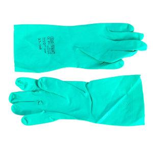 ANSELL/安思尔 抗溶剂腈胶无衬垫手套 37-165 10码 1副