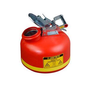 JUSTRITE/杰斯瑞特 聚乙烯液体处置罐 14765Z 19L 红色 1个