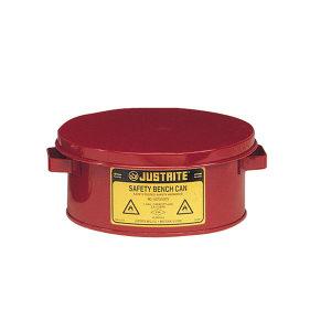 JUSTRITE/杰斯瑞特 钢制台式浸罐 10375 4L 红色 1个