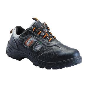 DUNWANG/盾王 牛皮透气网布安全鞋 8111 39码 黑色 防砸耐油耐弱酸碱 带独立鞋盒 1双