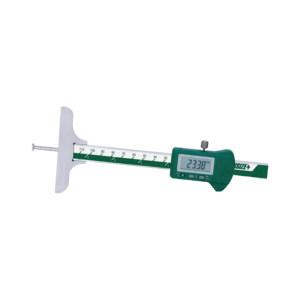 """INSIZE/英示 圆杆数显深度尺 INSIZE-1148-200 0-200mm/0-8"""" 1把"""