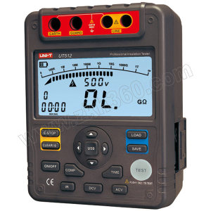 UNI-T/优利德 绝缘电阻测试仪 UT512 1台