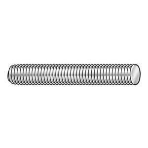ZKH/震坤行 DIN976-1 牙条-TypeB(带倒角) 碳钢 8.8级 镀锌 302507012003000200 M12×30 500个 1包