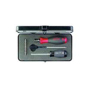 WIHA/威汉 2852S10-01系列有变扭力刻度螺丝起子套装 WIHA-34614 铁盒,13件 1.0-5.0Nm 精度±6% 1套