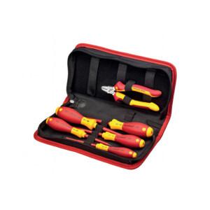 WIHA/威汉 9300-018系列电工绝缘工具包组套 WIHA-33969 拉链包,6件 1套