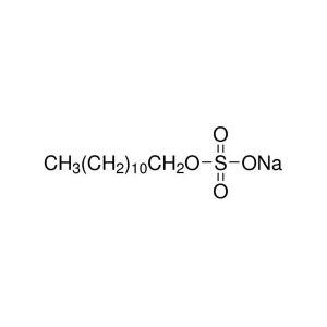 ALADDIN/阿拉丁 十二烷基硫酸钠 S108347-500g CAS:151-21-3 等级:AR 92.5-100.5% 500g 1瓶