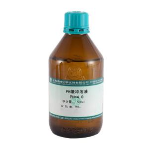 YONGHUA/永华 pH标准缓冲溶液 730125104 邻苯二甲酸氢钾 pH4.0 500mL 1瓶