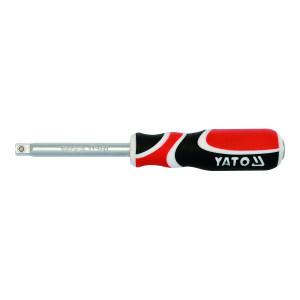 """YATO/易尔拓 三色柄旋柄 YT-1427 1/4""""×150mm 1支"""