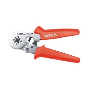 YATO/易尔拓 棘轮压线钳(欧式端子) YT-2305 0.5-6.0mm² 180mm 四方形(实物0.2-6mm² 175mm) 1把