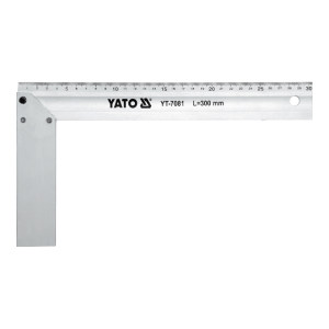 YATO/易尔拓 铝合金角尺 YT-7081 300mm 1把