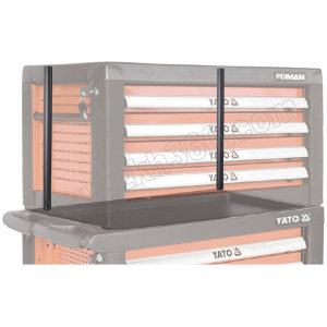 YATO/易尔拓 高档工具车(柜)定位杆 YT-09071 485×28mm 1副