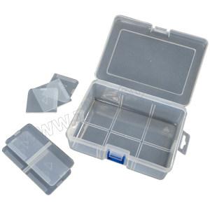 ZKH/震坤行 PP透明零件盒 G-200 200×140×48mm(8分隔) 1个