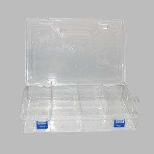 ZKH/震坤行 PP透明零件盒 G-300 300×200×63mm(10分隔) 1个