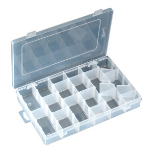PROSKIT/宝工 活动耐摔零件盒 103-132D 275×177×42mm 36格 1只