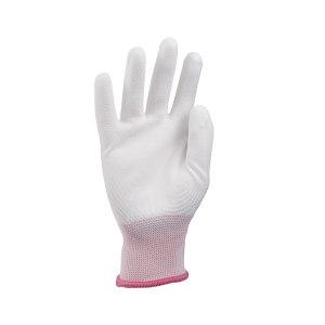 AIWIN ECO-Xtrflex 涤纶白PU手套(掌浸) 10334 PU掌部涂层 7号 S 1副