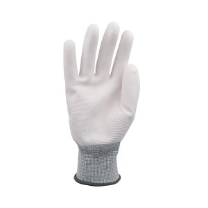 AIWIN ECO-Xtrflex 涤纶白PU手套(掌浸) 10334 PU掌部涂层 9号 L 1副