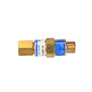 GONGZI/工字 减压器用回火防止器 HF-P2氧气 HF-P2氧气/装在减压器 1只
