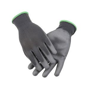 AIWIN ECO-Xtrflex 涤纶灰PU手套(掌浸) 10336 PU掌部涂层 8号 M 1副