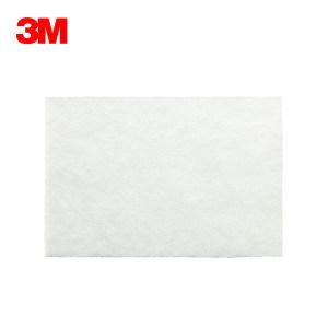 "3M 工业百洁布(白色) 7445 6""*9""(152×228mm) 1片"
