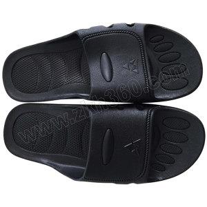 HYTECH/华涌 SPU防静电拖鞋 HS-307 44码 黑色 1双