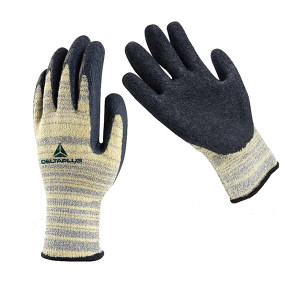 DELTA/代尔塔 耐热芳纶乳胶涂掌防割手套 202015 9码 5级防割 1副