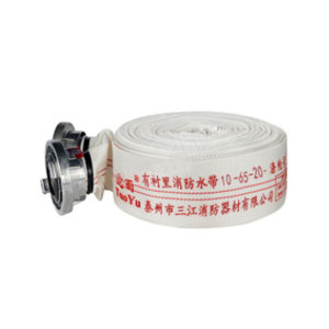 TUOYU/沱雨 天然橡胶有衬里消防水带(含接口直流水枪) 10-65-20 工作压力1.0Mpa 口径65mm 长度20m 配内扣式接口 1根