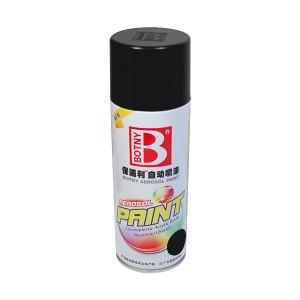 BOTNY/保赐利 高级自动喷漆 B-1088 4 哑光黑 400mL 1罐
