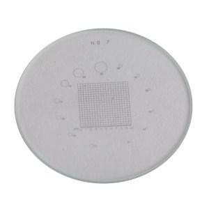 AS ONE/亚速旺 PEAK放大镜刻度板 PS-7 2-191-04 玻璃直径:7·15×用 /φ26mm 10×用 /φ35mm 1个