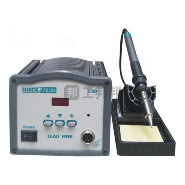 QUICK/快克 无铅电焊台 QUICK203H 调温范围50~600℃ 温度稳定度(空载)±2℃(替代老型号503) 1台