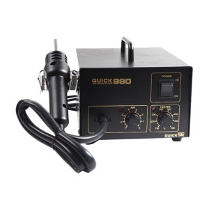 QUICK/快克 热风拆焊台 QUICK990 功率320w 风量≤24L/min 温度150—500℃ 1台