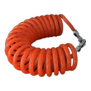 ZHENGMI/正密 PU弹簧气管-带碳钢快速接头 CLW-0850-3M-O 3m 橘红色 1根