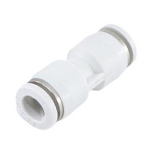 AIRTAC/亚德客 APU系列直通管接头 X-APU8 塑料接头 快插接口8mm-快插接口8mm 1个