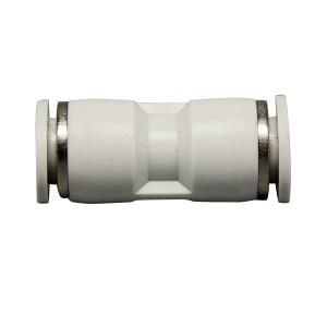 AIRTAC/亚德客 APG系列减径直通管接头 X-APG10-8 塑料接头 快插接口10mm-快插接口8mm 1个