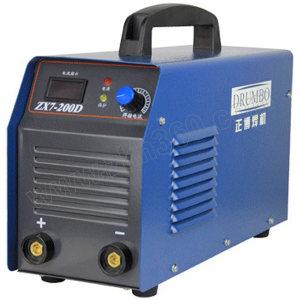 DRUMBO/正博 250W逆变单管直流手弧焊机 ZX7-250D 220V单管 快速接头2只 不含焊把线和焊钳 1台