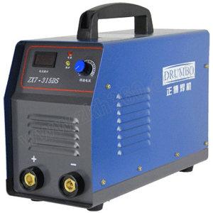 DRUMBO/正博 315W逆变单管直流手弧焊机 ZX7-315DS 220V/380V单管 快速接头2只 不含焊把线和焊钳 1台