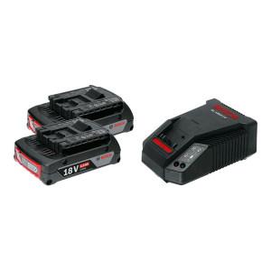 BOSCH/博世 两电一充充电套装 1600A01B6K 18V 2Ah 两电一充 1套