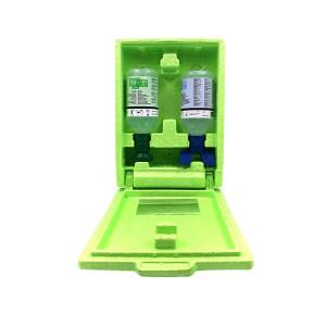 PLUM 洗眼液套装 4699 16盎司单眼洗眼液+16盎司双眼洗眼液+防尘防静电箱 (500ml)弱酸、弱碱、颗粒物、粉尘洗眼液 1套