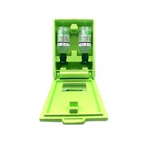 PLUM 洗眼液套装 4600 16盎司单眼洗眼液+16盎司单眼洗眼液+防尘防静电箱 (500ml)弱酸、弱碱、颗粒物、粉尘洗眼液 1套