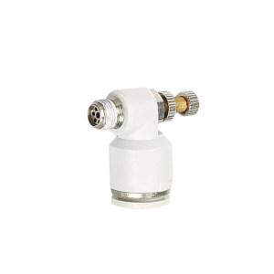 AIRTAC/亚德客 ASL系列管接型单向节流阀(排气型) ASL10-02 1个
