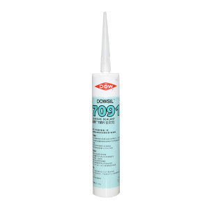 DOWSIL/陶熙 有机硅胶-通用型 张家港产7091GREY 脱醇 310mL 1支
