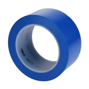 3M PVC单色地面标识胶带 471 蓝色 50mm*33m 1卷