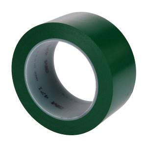 3M PVC单色地面标识胶带 471 绿色 50mm*33m 1卷