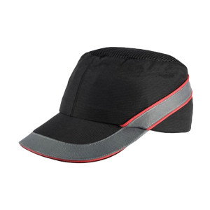 DELTA/代尔塔 COLTAN轻型防撞安全帽 102110 黑色(NO) PU涂层 PE帽壳 7cm帽檐 1顶