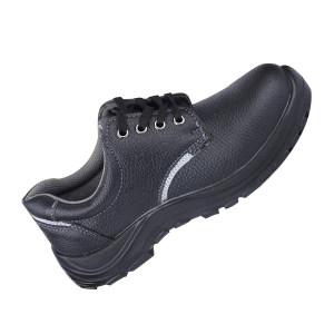 DADUN/大盾 M系列低帮牛皮安全鞋 M0107 38码 黑色 防砸防静电 1双