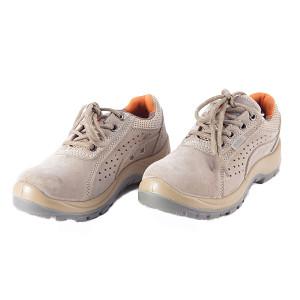 DADUN/大盾 K系列低帮翻毛皮安全鞋 K0102 36码 黄色 防砸防静电 1双