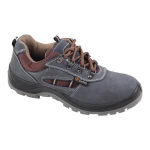 DADUN/大盾 K系列低帮翻毛皮安全鞋 K0103 45码 蓝色 防砸 1双