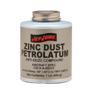 JET-LUBE 含锌润滑剂 ZINC DUST-PETROLATUM ANTI-SEIZE 1lb 1罐